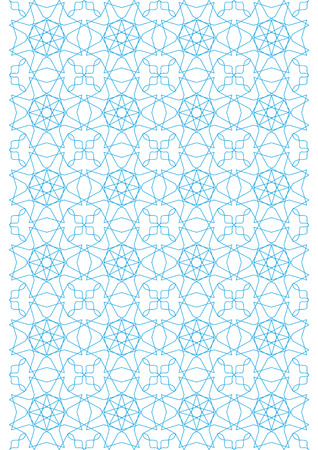 Repeating geometric lines on white background pattern Stock Vector - 24521543