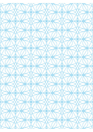 Repeating geometric lines on white background pattern Stock Vector - 24522021