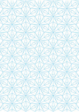Repeating geometric lines on white background pattern Stock Vector - 24522038