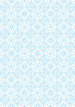 Repeating geometric lines on white background pattern