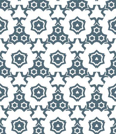 vektör koyu gri psychedelic soyut yıldız seamless pattern beyaz bir arka plan monokrom