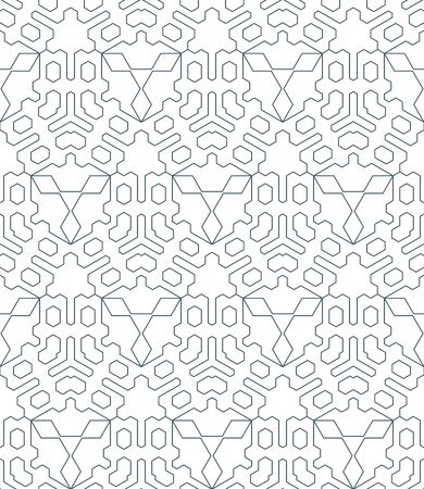 vector dark monochrome color outline abstract triangle geometric seamless pattern white background
