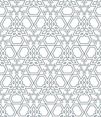 vector dark monochrome color outline abstract triangle urban futuristic seamless pattern Illustration
