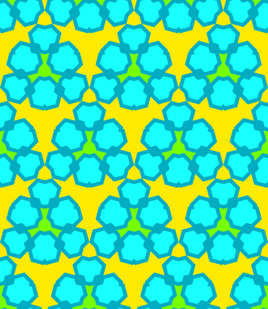 vector yellow blue green abstract triangle urban futuristic seamless pattern