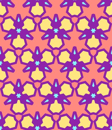 vector pink yellow purple blue color abstract triangle urban futuristic seamless pattern