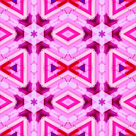vibrant color: vector pink violet vibrant color abstract glitch geometric seamless pattern