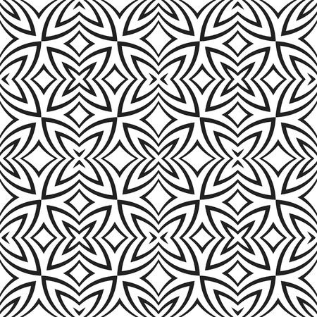 vecteur couleur noire d'art abstrait illusion optique décoration design pattern fond blanc isolé