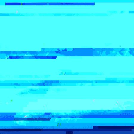ベクトル シアン色モダンな抽象デジタル グリッチ グラフィック デザイン破損データ ファイルの背景 写真素材 - 54177986