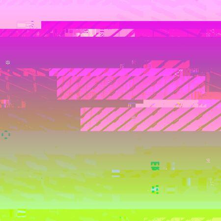 vector vibrant pink green color modern abstract digital glitch graphic design damaged data file background Illustration