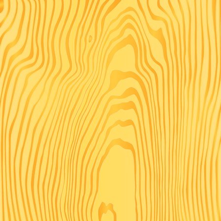 ligneous: vector light yellow brown orange wood texture illustration background Illustration