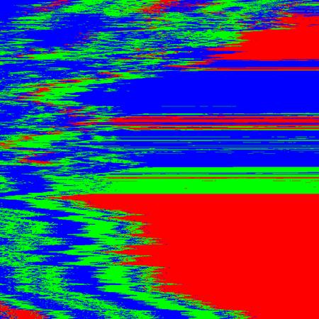 ベクトル RGB テレビ音抽象的な干渉グリッチ現代装飾背景  イラスト・ベクター素材