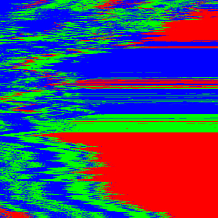 vector RGB television noise abstract interference glitch modern decoration background