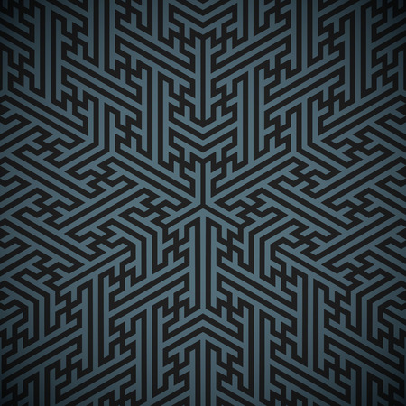 vector black triangle design hinduism swastika ornament dark grey decoration background
