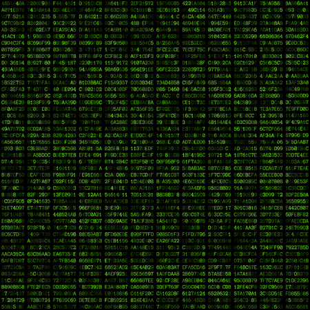 hexadecimal: vector green color hexadecimal code text decorative abstract black background seamless pattern