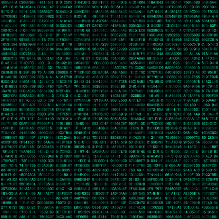 hexadecimal: vector teal color hexadecimal code text decorative abstract black background seamless pattern