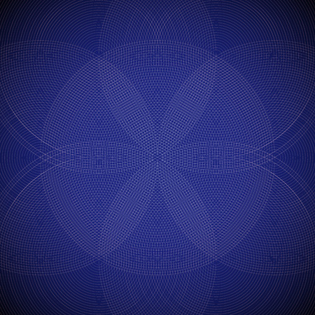 vector violet strokes ornament design abstract mandala sacred geometry illustration seed of life background pattern Иллюстрация