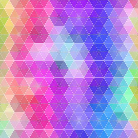 vector various vibrant colors abstract hexagonal geometric grid pattern for backgrounds, wrapped paper, fabric prints and various surface designs