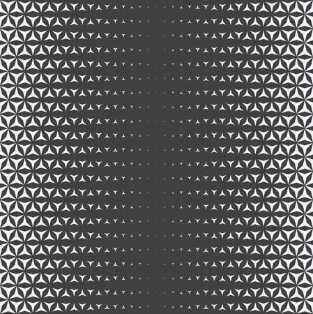 vector grey monochrome sacred geometry flower of life vertical liner gradient pattern dark background