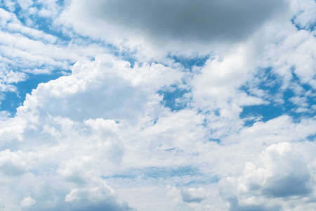 Blue sky and cloud, background Standard-Bild