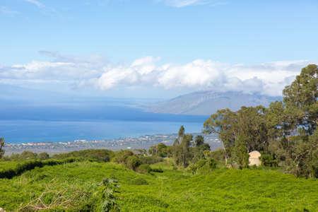 Spectacular Views of Kahoolawe and Molokini from Sun Yat-Sen Memorial Park, Maui.