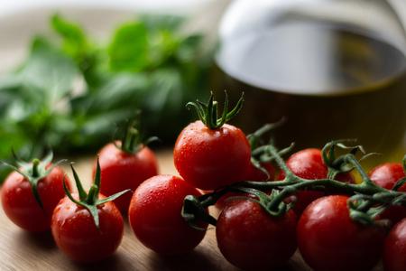 Cherry tomatoes 写真素材