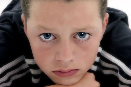 Blue Eyed Boy Stock Photo - 420121