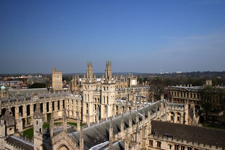 turrets: All Souls College Oxford University 2