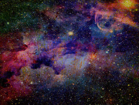 background with space sky natural colorful