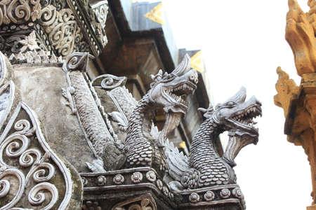 Stucco Lanna style of Thailand Stock Photo - 14493874