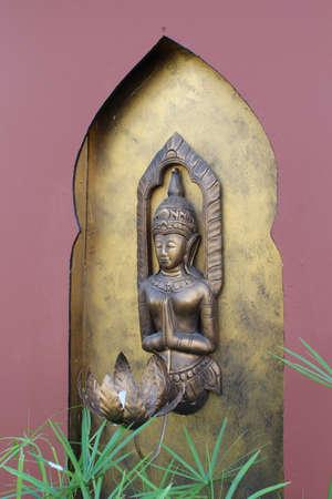 faerie: Faerie sculpture Thai art Stock Photo