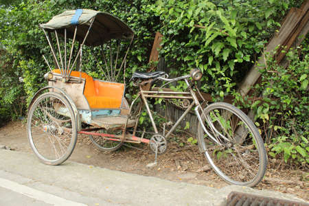 three wheeler: An old three wheeler