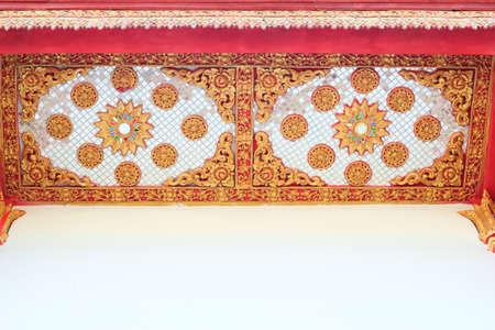 Thai art  Lai Thai  temple in Thailand Stock Photo - 23902216