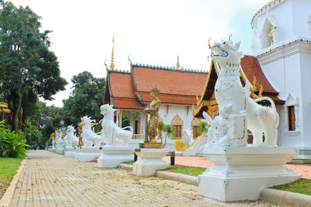 temple in Chiangmai Thailand  photo