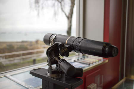 looking glass viewing false creek - side Imagens
