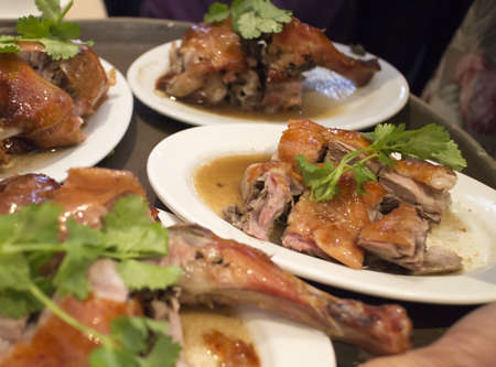 barbecued: chinese dim sum - barbecued duck