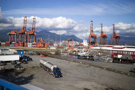 ship yards on burrard inlet