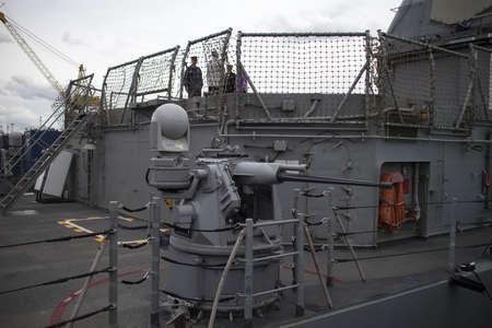 lonsdale: a machine gun aboard war ship Editorial