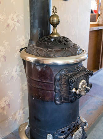 stove: antique stove