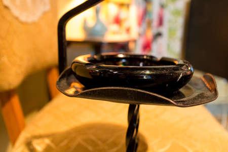 a classic old retro ashtray