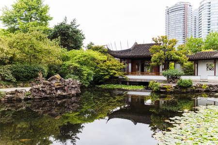 yat sen: an urban garden with pond