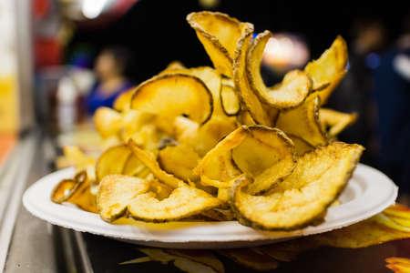 some fresh cut chips at the fair