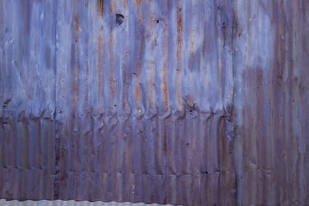 aluminum: purple aluminum siding Stock Photo