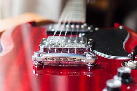 sg: the bridge pickup on electric guitar