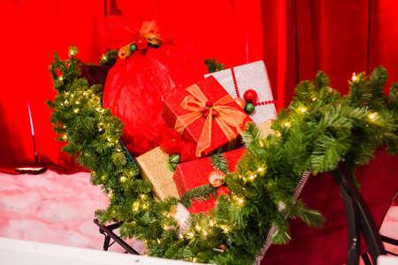 shiny: shiny gifts in santa sleigh