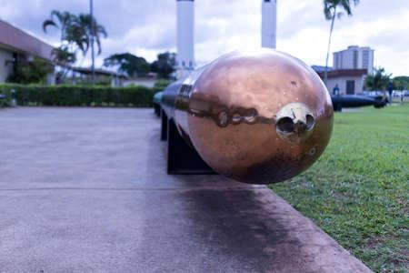 brilliant Torpedo relica at Pearl Harbor