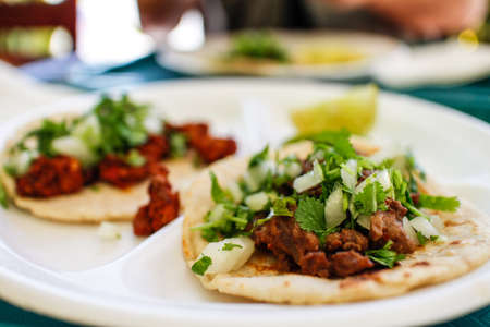 some authentic Mexican beef tacos in LA eatery