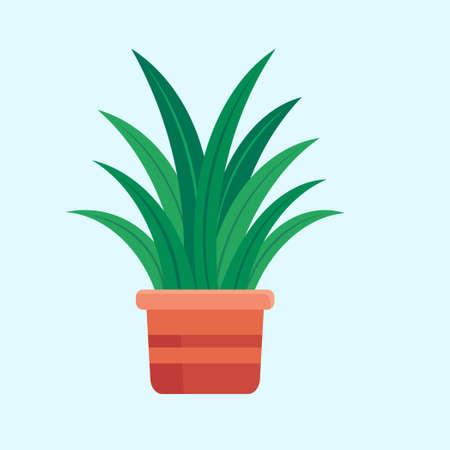 house plant flat design vector ilustration