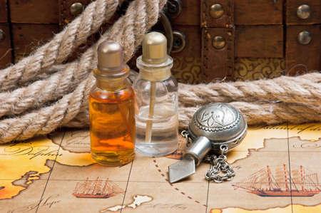 elixir: Ves�culas con un elixir contra tablas viejas y pecho