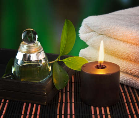 tools and accessories for spa treatments and relaxation Stock Photo - 12660257