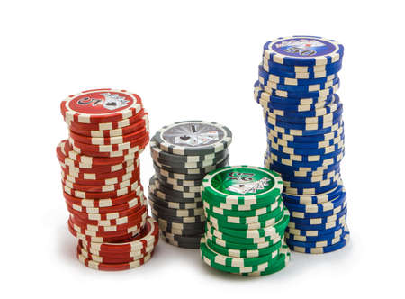 items from the casino for gambling games Stock Photo - 13815161